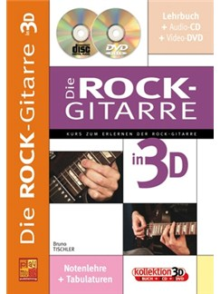 Die Rock-Gitarre In 3D (Book/CD/DVD) Books, CDs and DVDs / Videos | Gitarre