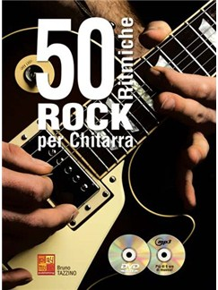50 Ritmiche Rock Chitarra Gtr Bk/Cd Books and CDs | Guitar
