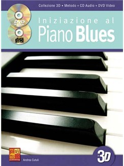 Iniz Piano Blues Pf Bk/Cd/Dvd Books and CDs | Piano