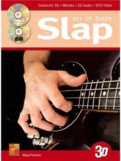 Rosendo Slap En Bajo Bgtr Bk/Cd/Dvd Buch und CD | Bassgitarre