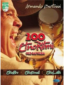 Bertozzi 200 Ritmi Drums Bk/Cd Bog og CD | Trommer