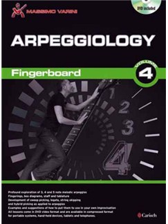 Arpeggiology Gtr Bk/Dvd DVDs / Videos y Libro | Guitarra
