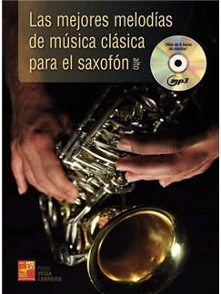 Mejores Melodias Clasica Sax Bk/Cd Books and CDs | Saxophone
