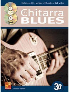 Chitarra Blues Gtr Bk/Cd/Dvd Books and CDs | Guitar