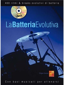 Batteria Evolutiva Drums Bk/Cd Books and CDs | Drums