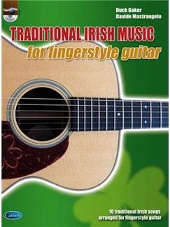 Irish Music Fingerstyle Gtr Bk/Cd CD et Livre | Guitare