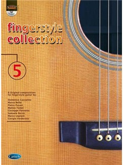 Fingerstyle Collection 5 Gtr Bk/Cd Books and CDs | Guitar