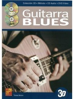 La Guitarra Blues En 3D (Book/CD/DVD) Books, CDs and DVDs / Videos | Guitar