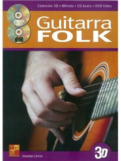 La Guitarra Folk En 3D (Book/CD/DVD) Books, CDs and DVDs / Videos | Guitar