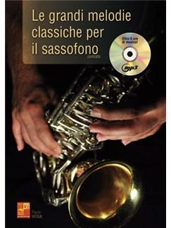 Paulo Veiga: Le Grandi Melodie Classiche Per Il Sassofono (Book/CD) Books and CDs | Saxophone