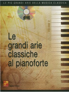 Andrea Cutuli: Grandi Arie Classiche - Volume 2 (Book/CD) Books and CDs | Piano