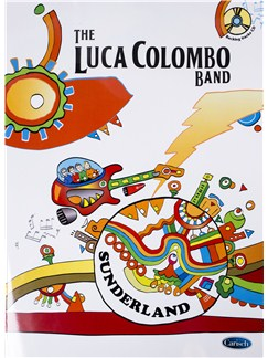The Luca Colombo Band: Sunderland (Book/CD) Books and CDs | Guitar Tab