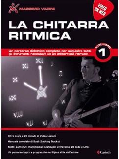 Massimo Varini: La Chitarra Ritmica - Volume 1 (Book/Downloads) Books and Digital Audio | Guitar