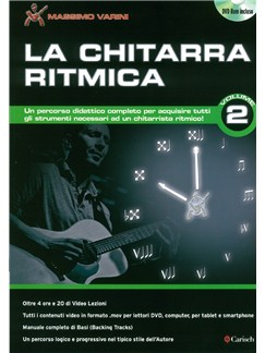 Massimo Varini: La Chitarra Ritmica- Volume 2 (Book/DVD) DVDs / Videos y Libro | Guitarra