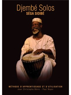 Séga Sidibé: Djembé Solos (English Language Edition) Books and CDs | Percussion