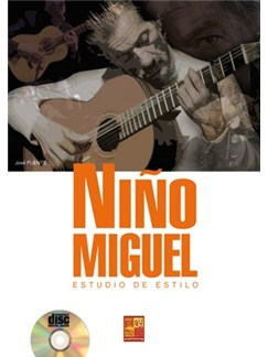 José Fuente: Niṅo Miguel - Estudio De Estilo (Book/CD) Books and CDs | Guitar