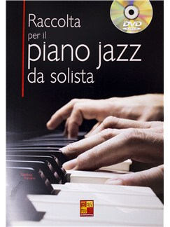 Gianluca Varcaro: Raccolta Per Il Piano Jazz Da Solista (Book/DVD) Books and DVDs / Videos | Piano