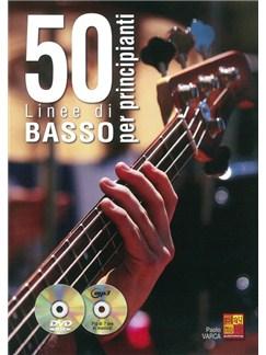Paolo Varca: 50 Linee Di Basso Per Principianti (Book/CD/DVD) Books, CDs and DVDs / Videos | Bass Guitar