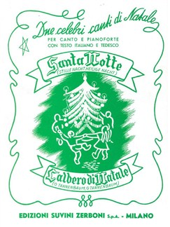 Santa Notte/L'Albero Di Natale Buch | Gesang, Klavierbegleitung