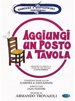 Armando Trovajoli: Aggiungi un posto a tavola Books | Piano, Vocal & Guitar
