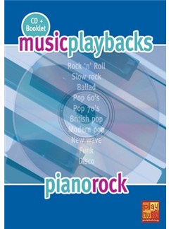 Music Playbacks CD : Piano Rock CDs | Piano