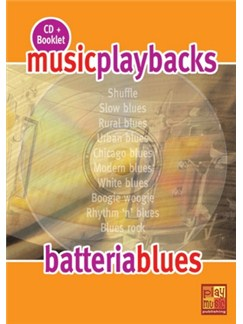 Music Playbacks CD : Batteria Blues CDs | Drums