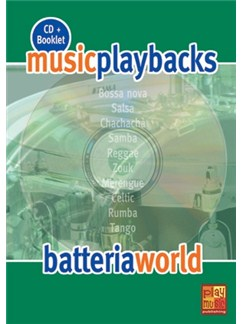 Music Playbacks CD : Batteria World CDs | Drums