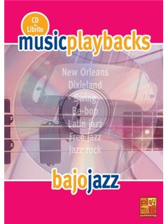 Music Playbacks CD : Bajo Jazz CDs | Bass Guitar