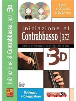 Iniziazione al Contrabbasso in 3D Books, CDs and DVDs / Videos | Double Bass