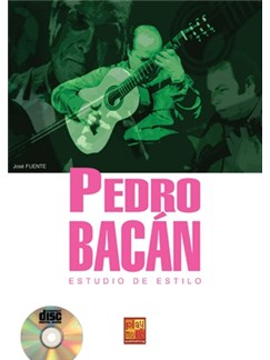 Pedro Bacan Estudio Estilo Books and CDs | Guitar