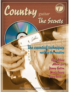 "Country Guitar ""The Secrets"" Books and CDs 