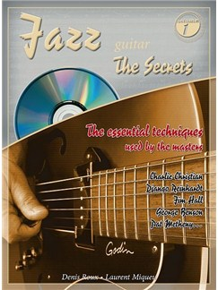 "Jazz Guitar ""The Secrets"" Books and CDs 