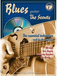 "Blues Guitar""The Secrets"" Books and CDs 