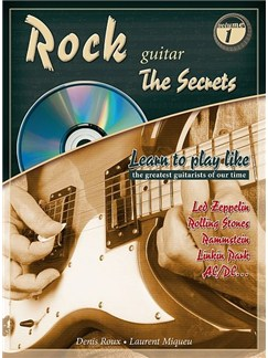 "Rock Guitar ""The Secrets"" Books and CDs 