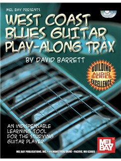 West Coast Blues Guitar Play-Along Trax Books and CDs | Guitar