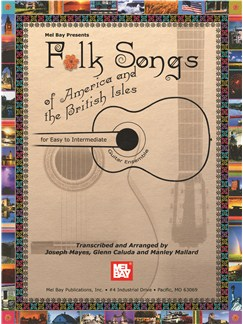 Folk Songs Of America And The British Isles Books | Guitar