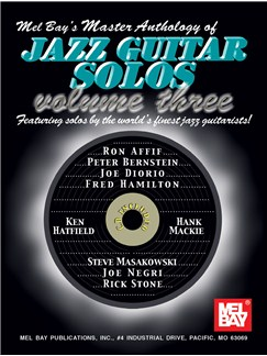 Master Anthology of Jazz Guitar Solos, Volume 3 Books and CDs | Guitar, Guitar Tab