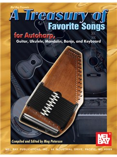 A Treasury of Favorite Songs for Autoharp Books | Autoharp, Zither