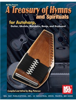 A Treasury of Hymns and Spirituals Books | Autoharp, Zither