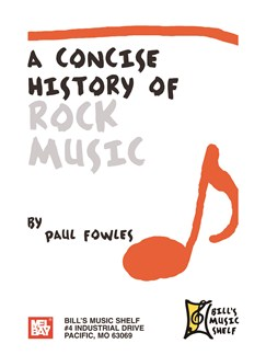 A Concise History Of Rock Music Books | All Instruments