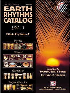 Earth Rhythms Catalog, Vol. 1 Books and CDs | Percussion