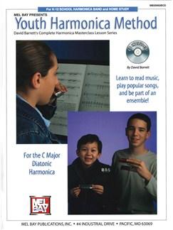 Youth Harmonica Method Books and CDs   Harmonica
