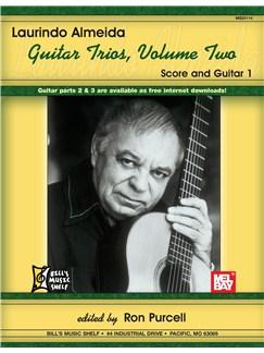 Laurindo Almeida Guitar Trios, Volume 2 Books | Guitar