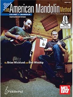 Brian Wicklund/Ben Winship: American Mandolin Method - Volume 1 (Book/Online Audio) Books and Digital Audio | Mandolin