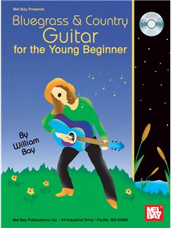Bluegrass & Country Guitar for the Young Beginner Books and CDs | Guitar, Guitar Tab