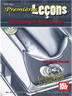 First Lessons:  Blues Harmonica - French Edt. Books and CDs | Harmonica
