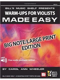 Warm-Ups for the Violists Made Easy Books | Viola