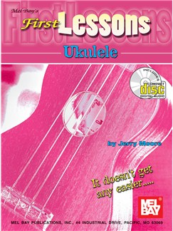Jerry Moore: First Lessons Ukulele (Book/CD) Books and CDs | Ukulele