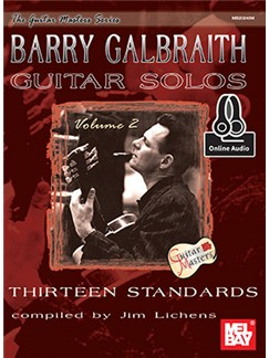 Barry Galbraith: Guitar Solos - Volume 2 (Book/Online Audio) Books and Digital Audio | Guitar