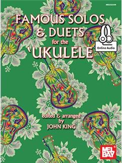 John King: Famous Solos And Duets For The Ukulele (Book/Online Audio) Books | Ukulele